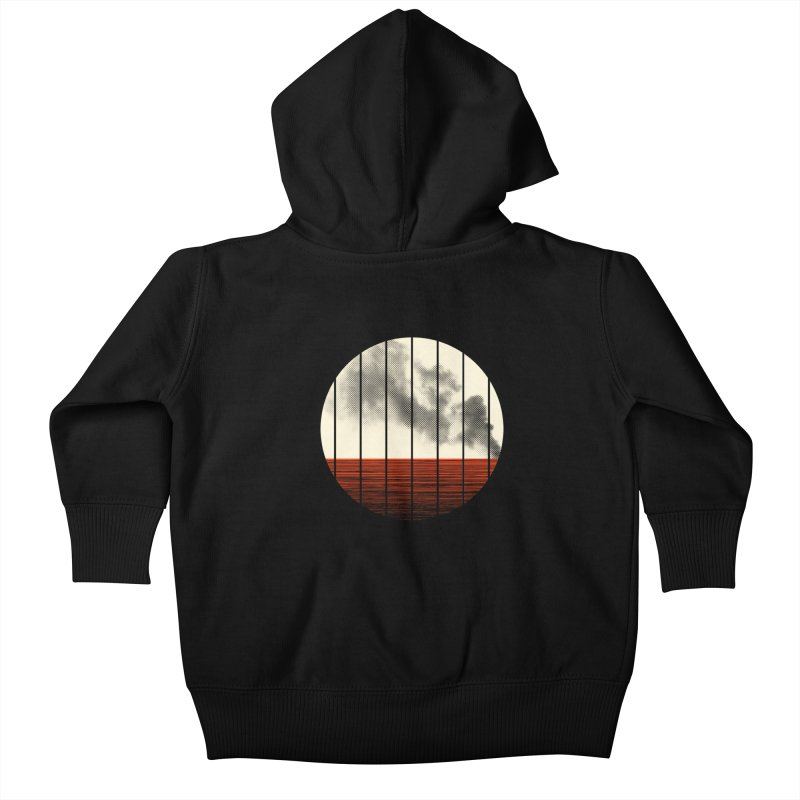 At Ease Kids Baby Zip-Up Hoody by halfgotten's Artist Shop