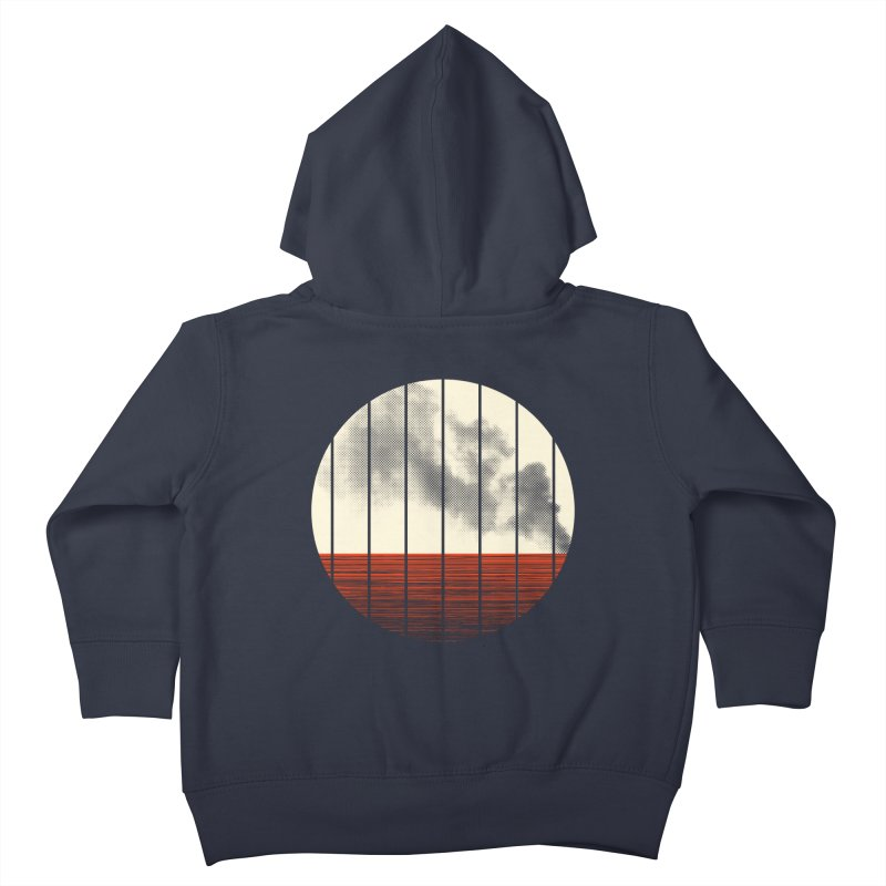 At Ease Kids Toddler Zip-Up Hoody by halfgotten's Artist Shop