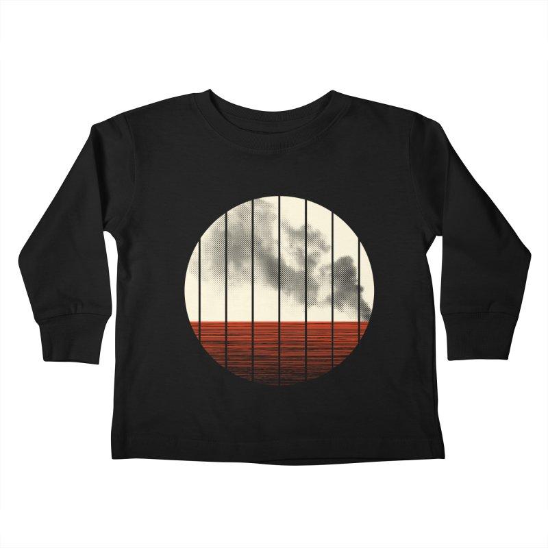 At Ease Kids Toddler Longsleeve T-Shirt by halfgotten's Artist Shop