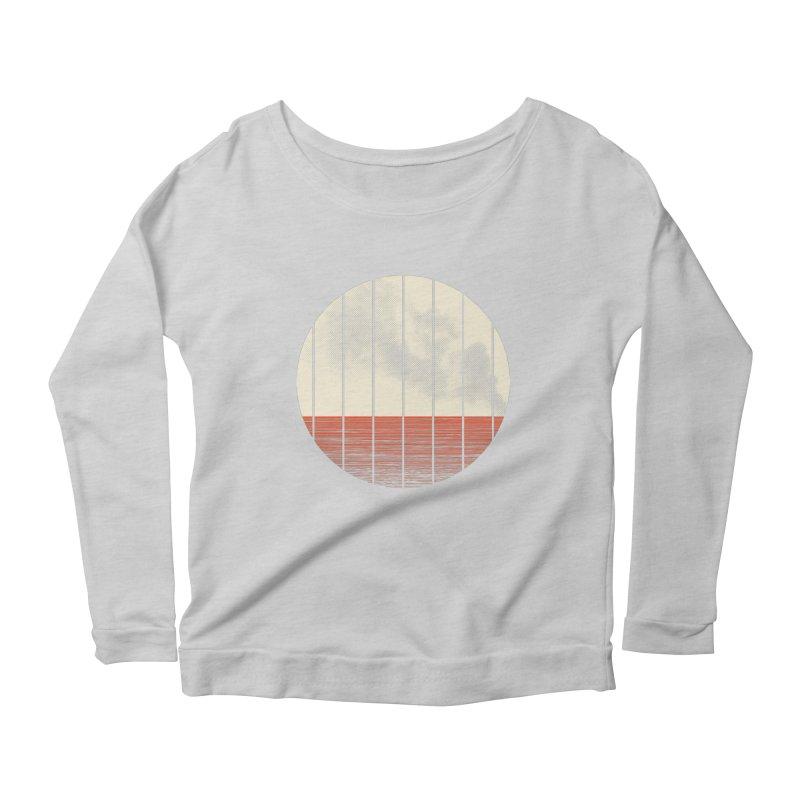 At Ease Women's Scoop Neck Longsleeve T-Shirt by halfgotten's Artist Shop