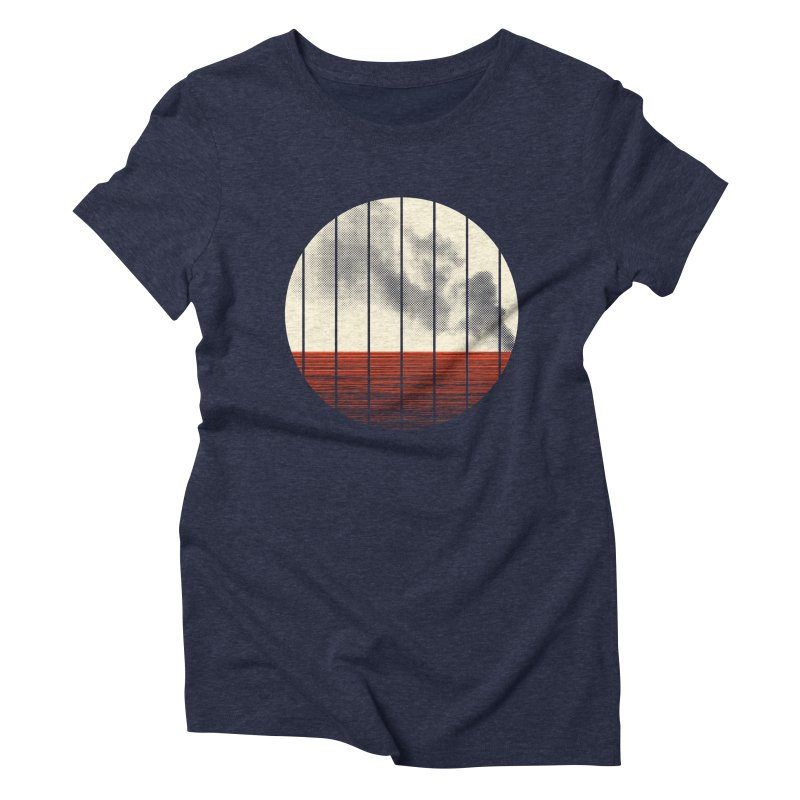 At Ease Women's Triblend T-Shirt by halfgotten's Artist Shop
