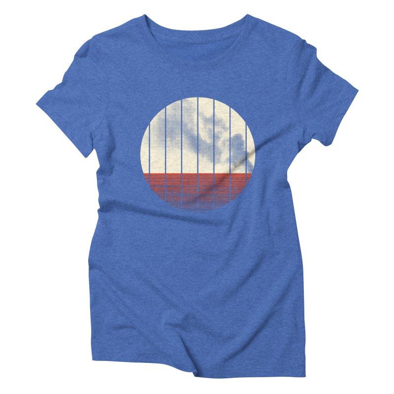 At Ease Women's Triblend T-Shirt by halfgotten's Artist Shop