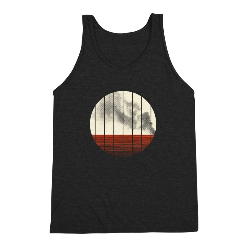 At Ease Men's Triblend Tank by halfgotten's Artist Shop