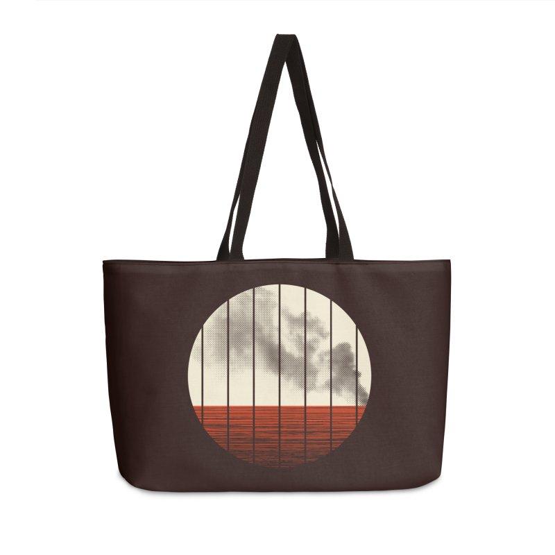 At Ease Accessories Weekender Bag Bag by halfgotten's Artist Shop