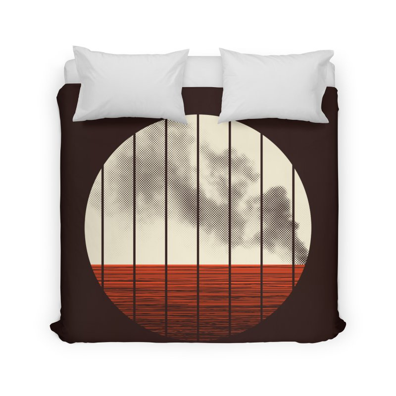 At Ease Home Duvet by halfgotten's Artist Shop