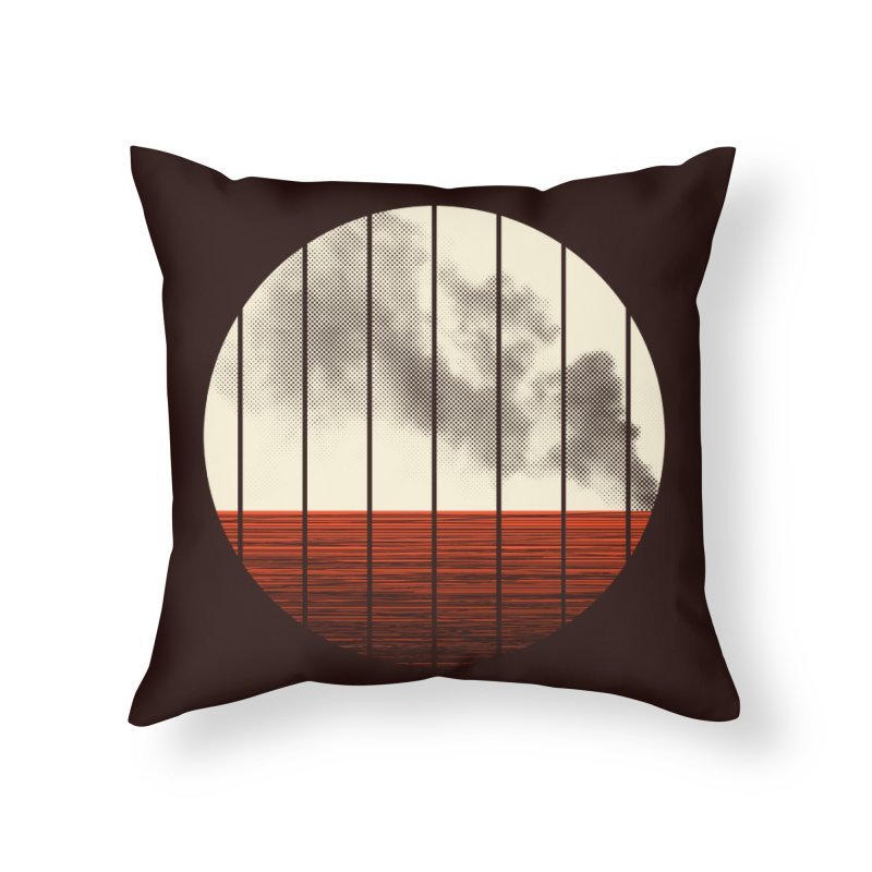 At Ease Home Throw Pillow by halfgotten's Artist Shop