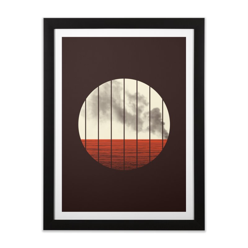 At Ease Home Framed Fine Art Print by halfgotten's Artist Shop