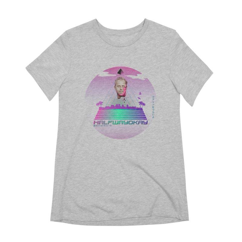 Gio Wave Women's Extra Soft T-Shirt by halfwayokay