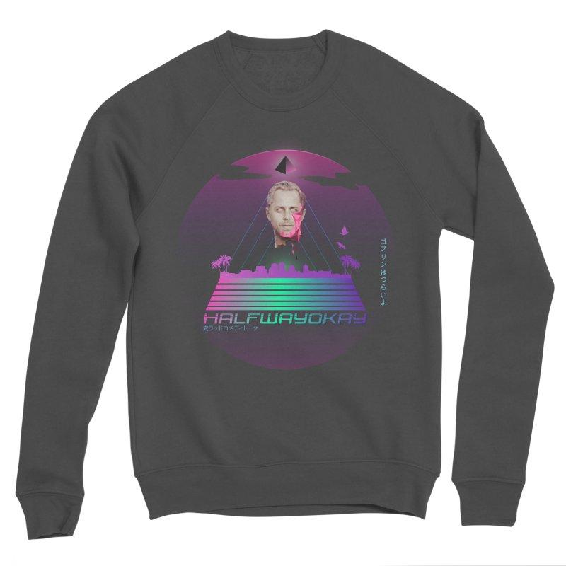 Gio Wave Women's Sponge Fleece Sweatshirt by halfwayokay