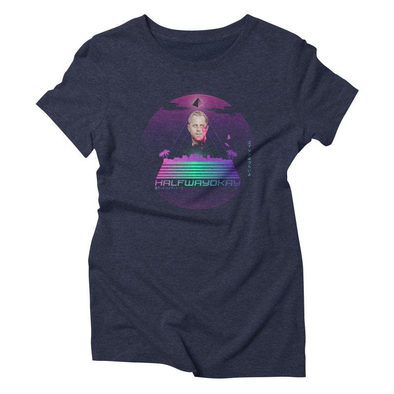 Gio Wave Women's Triblend T-Shirt by halfwayokay