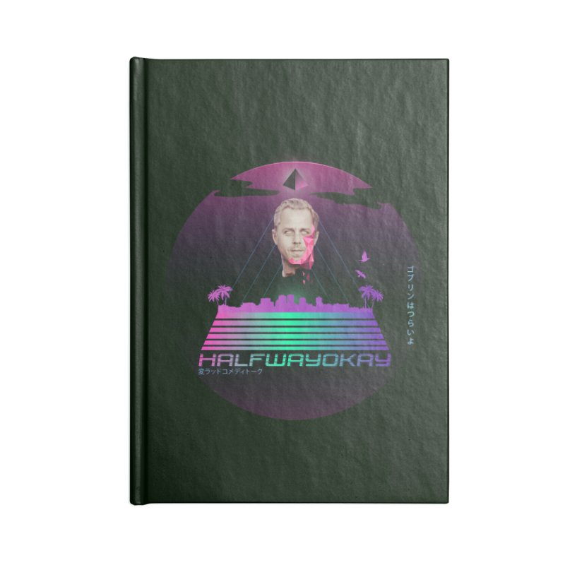 Gio Wave Accessories Lined Journal Notebook by halfwayokay