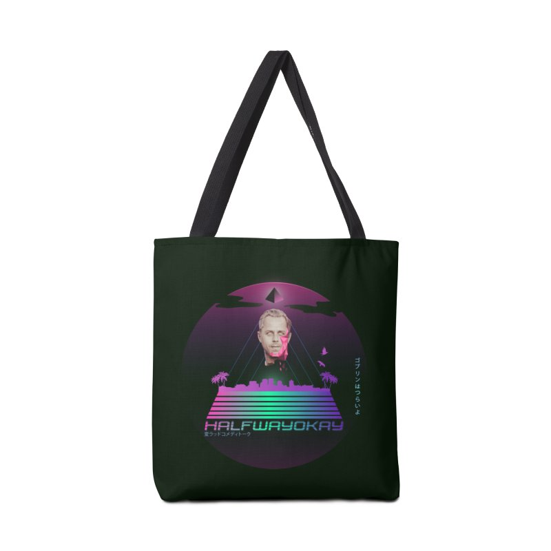 Gio Wave Accessories Bag by halfwayokay Spiderweb Store