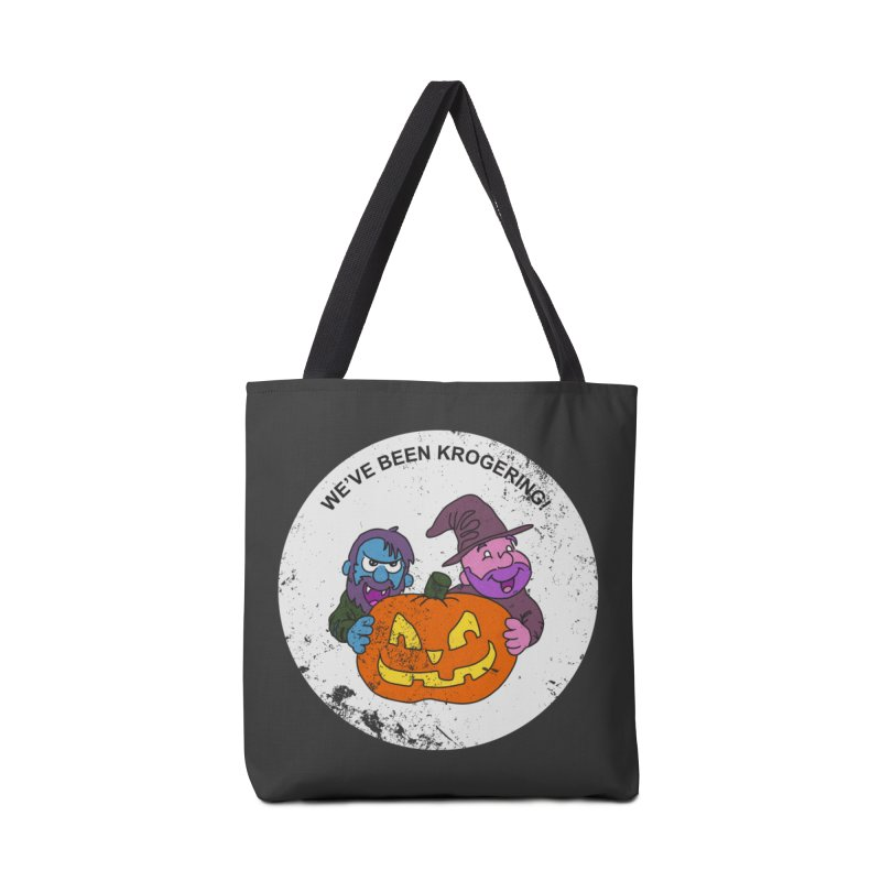 Krogering Accessories Bag by halfwayokay Spiderweb Store