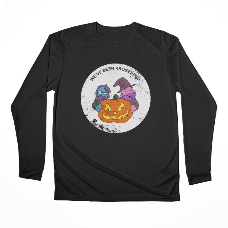 Krogering Men's Longsleeve T-Shirt by halfwayokay Spiderweb Store