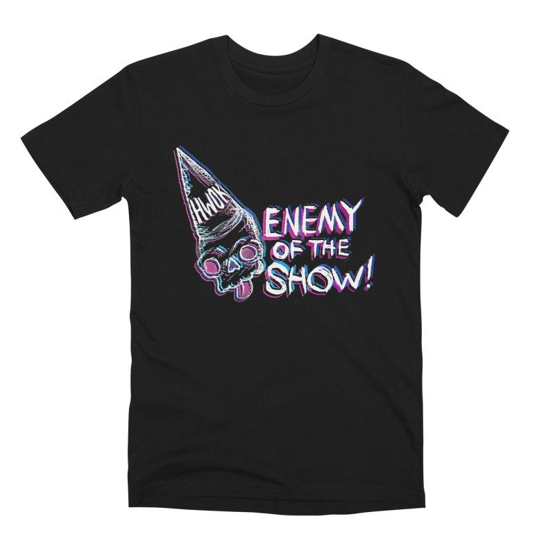 "halfwayokay ""Enemy of the Show"" Shirt Men's T-Shirt by halfwayokay"