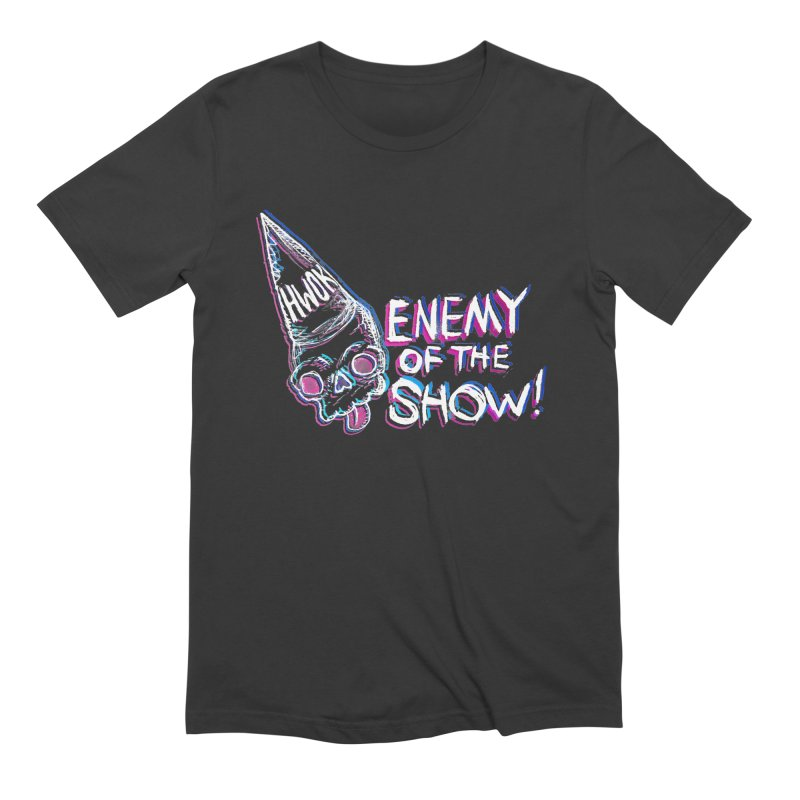 "halfwayokay ""Enemy of the Show"" Shirt Men's T-Shirt by halfwayokay"