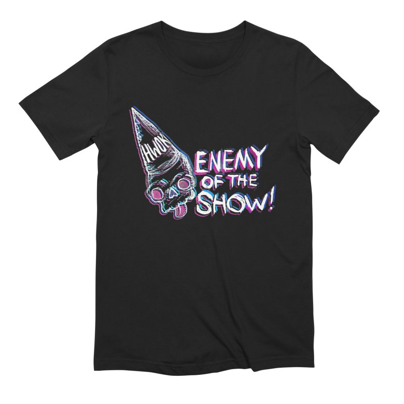 "halfwayokay ""Enemy of the Show"" Shirt Men's Extra Soft T-Shirt by halfwayokay"