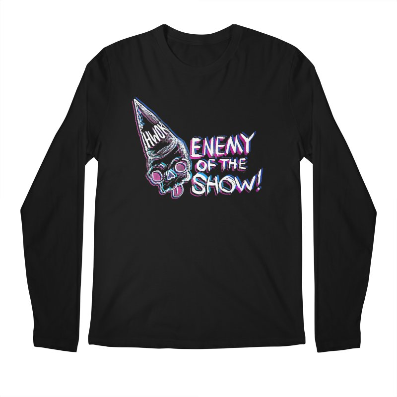 "halfwayokay ""Enemy of the Show"" Shirt Men's Longsleeve T-Shirt by halfwayokay"