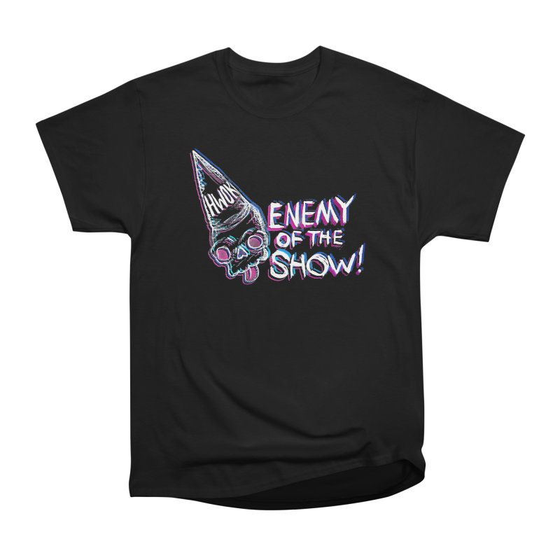 "halfwayokay ""Enemy of the Show"" Shirt Men's Heavyweight T-Shirt by halfwayokay"
