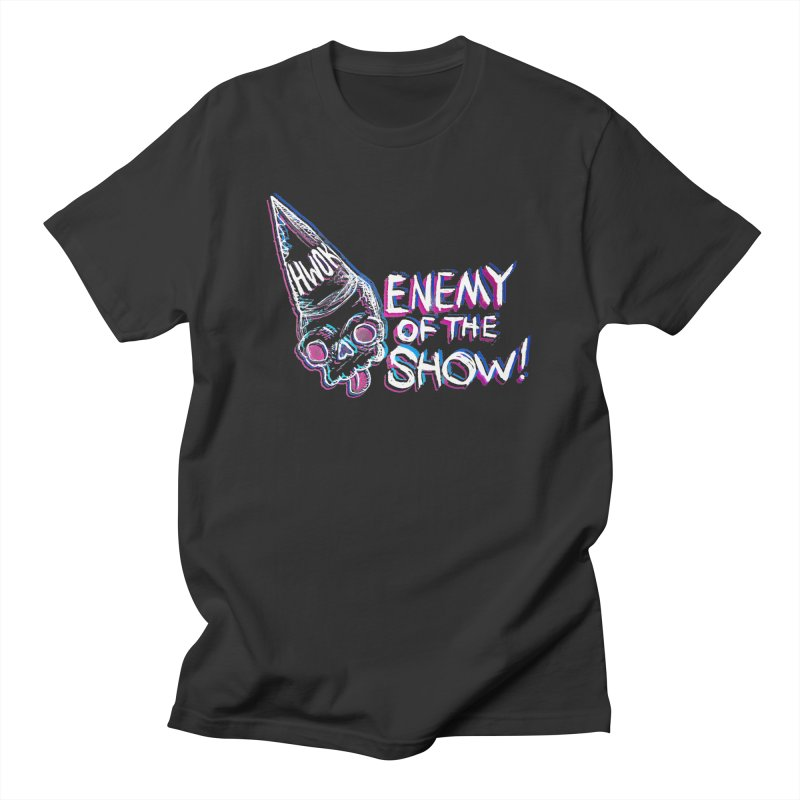 "halfwayokay ""Enemy of the Show"" Shirt Men's T-Shirt by halfwayokay Spiderweb Store"
