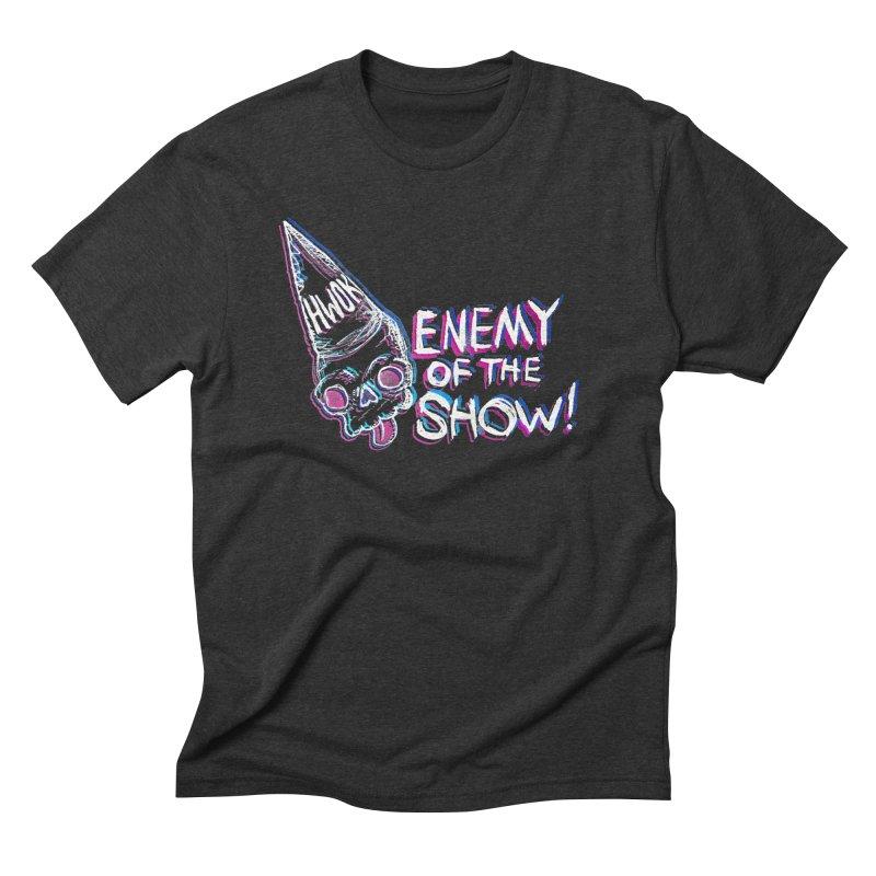 """halfwayokay """"Enemy of the Show"""" Shirt Men's T-Shirt by halfwayokay Spiderweb Store"""