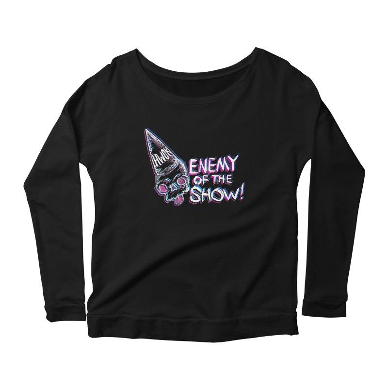"halfwayokay ""Enemy of the Show"" Shirt Women's Longsleeve T-Shirt by halfwayokay Spiderweb Store"
