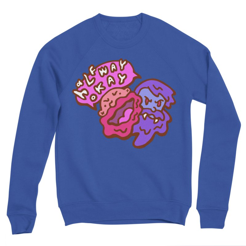 "halfwayokay ""Trash"" Shirt Men's Sweatshirt by halfwayokay"