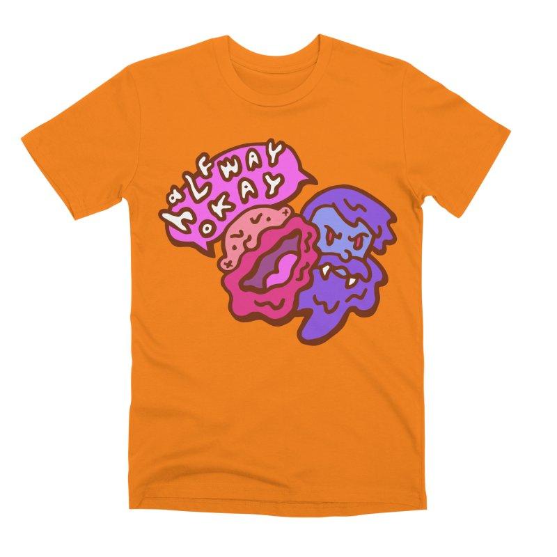 """halfwayokay """"Trash"""" Shirt Men's T-Shirt by halfwayokay Spiderweb Store"""