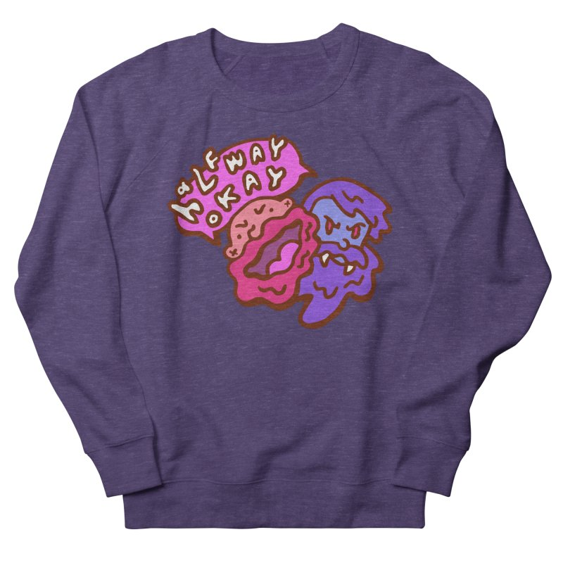 "halfwayokay ""Trash"" Shirt Men's French Terry Sweatshirt by halfwayokay"