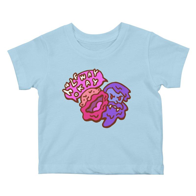 "halfwayokay ""Trash"" Shirt Kids Baby T-Shirt by halfwayokay"