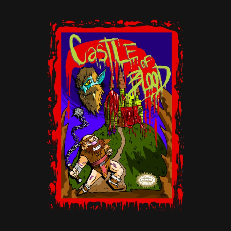 Castle Of Blood Men's T-Shirt by halfwayokay Spiderweb Store