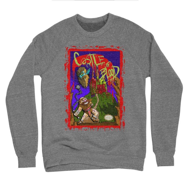 Castle Of Blood Men's Sweatshirt by halfwayokay Spiderweb Store