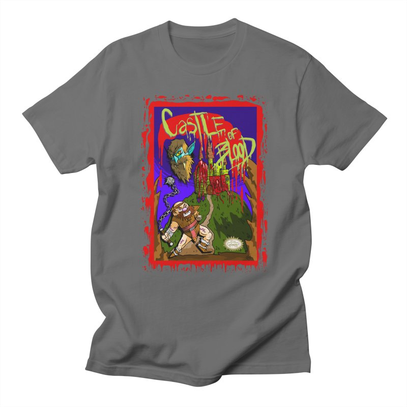 Castle Of Blood Men's T-Shirt by halfwayokay Spiderweb Store