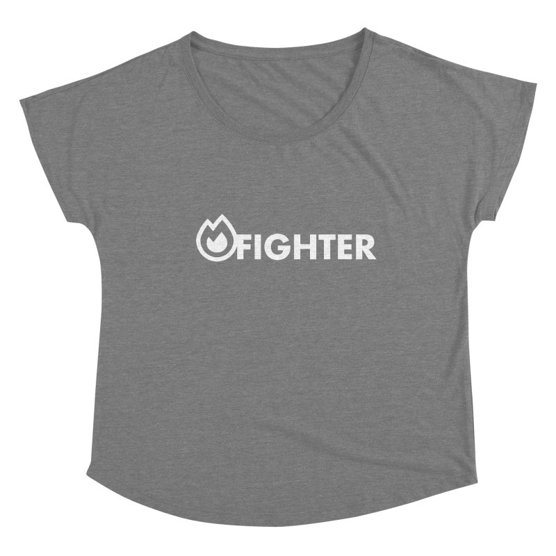 Fire Fighter Women's Scoop Neck by STRIHS