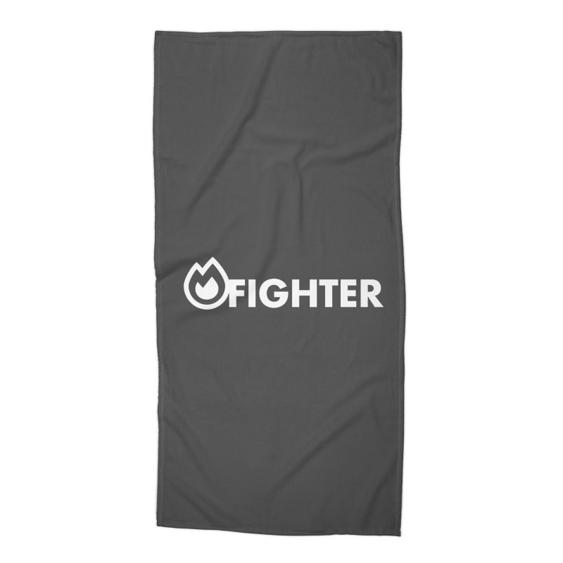 Fire Fighter Accessories Beach Towel by STRIHS