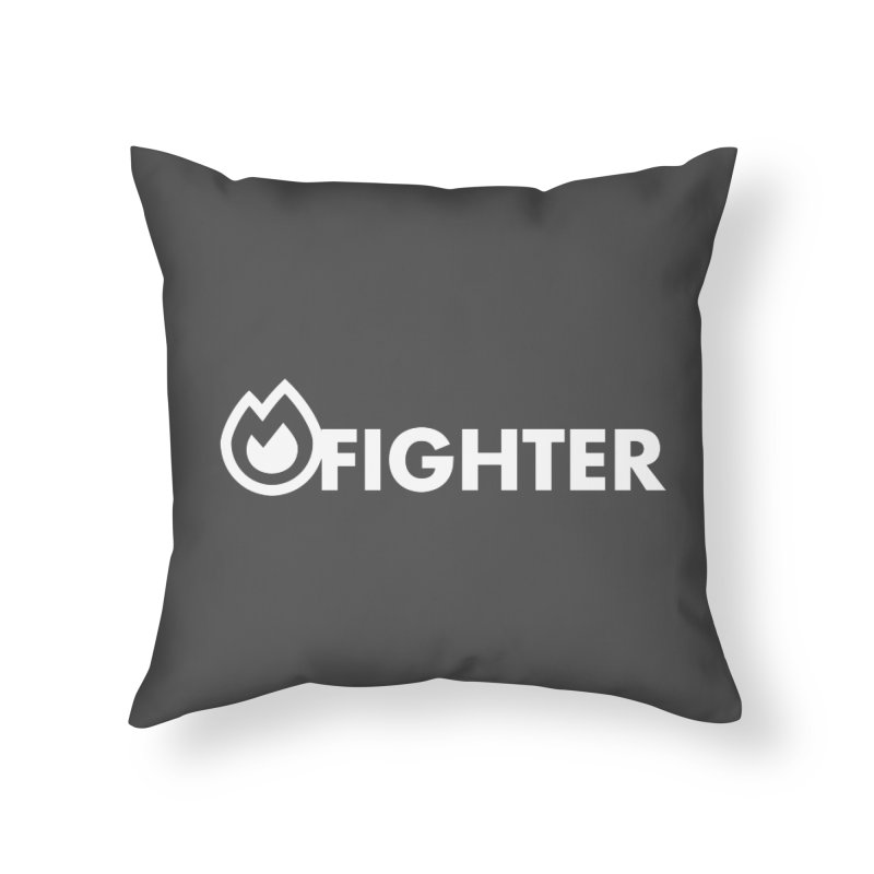Fire Fighter Home Throw Pillow by STRIHS
