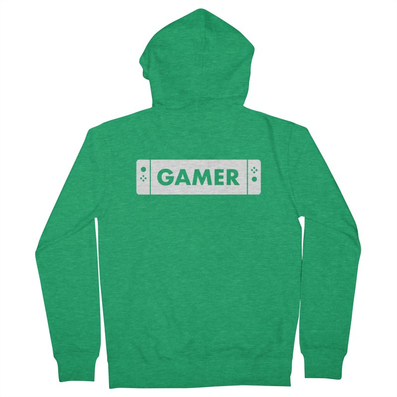 Gamer Shirt Men's Zip-Up Hoody by STRIHS