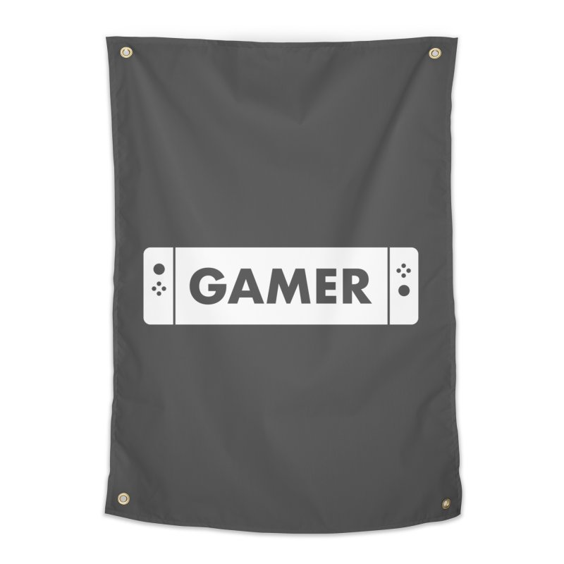 Gamer Shirt Home Tapestry by STRIHS