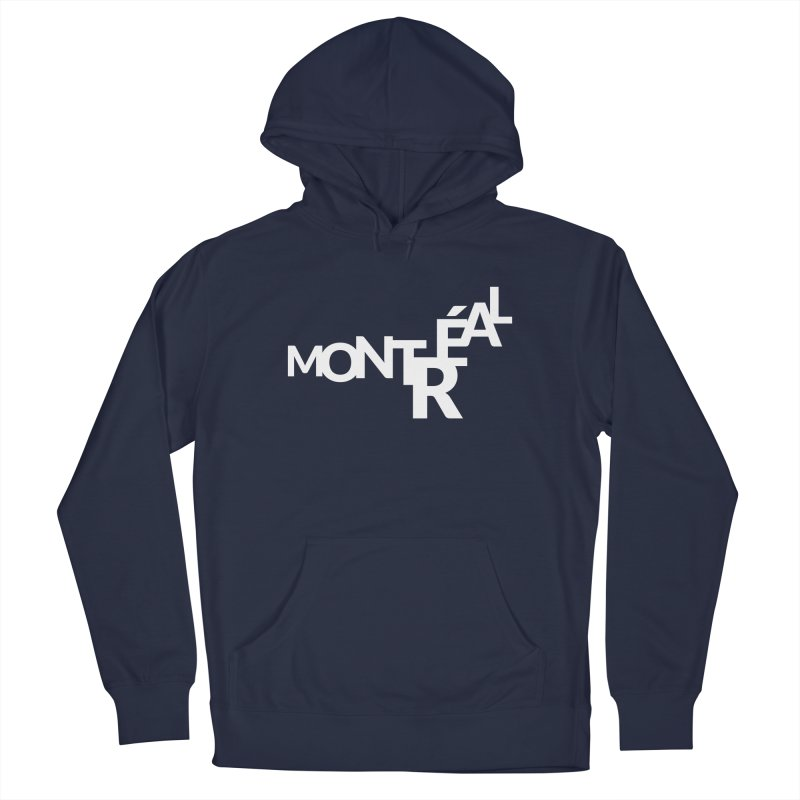 Montreal Island Logo Men's Pullover Hoody by STRIHS