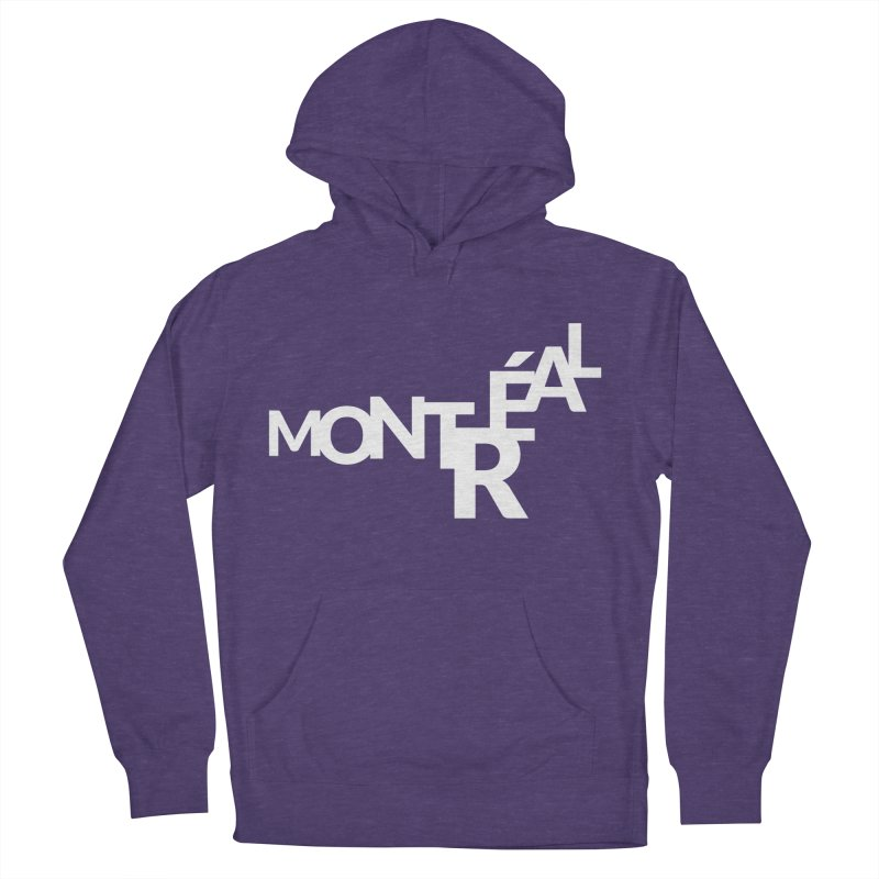 Montreal Island Logo Women's Pullover Hoody by Shirts by Hal Gatewood