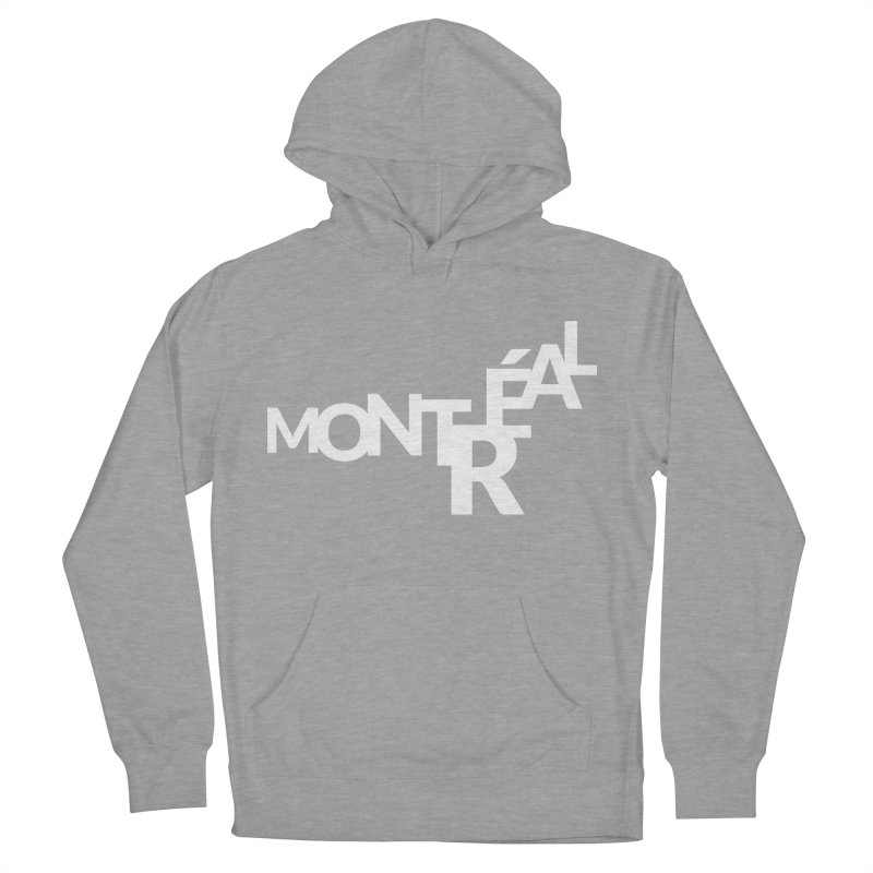 Montreal Island Logo Women's French Terry Pullover Hoody by Shirts by Hal Gatewood