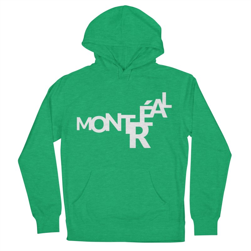 Montreal Island Logo Men's Pullover Hoody by Shirts by Hal Gatewood