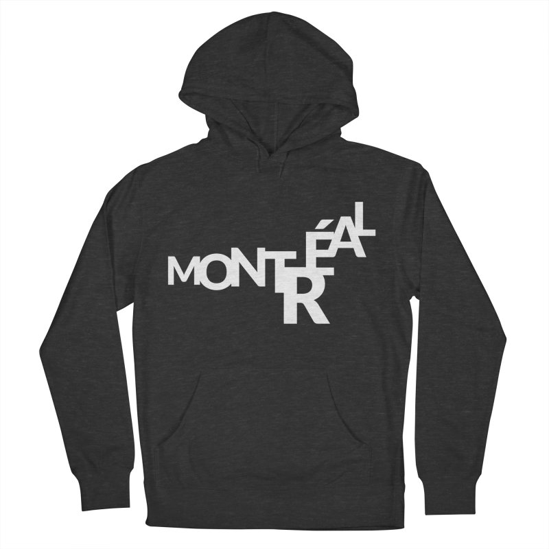Montreal Island Logo Men's French Terry Pullover Hoody by Shirts by Hal Gatewood