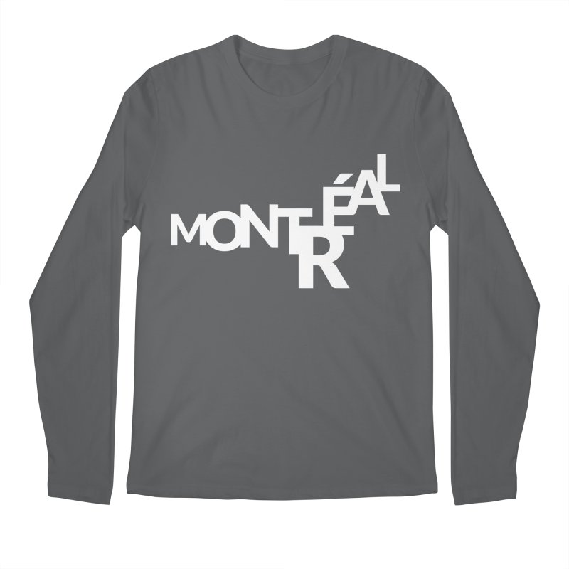 Montreal Island Logo Men's Longsleeve T-Shirt by STRIHS