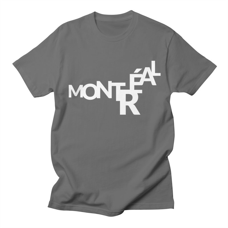 Montreal Island Logo Men's T-Shirt by STRIHS