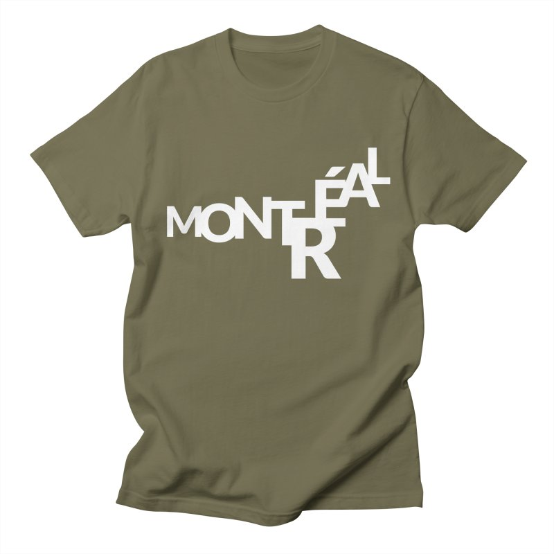Montreal Island Logo Women's Regular Unisex T-Shirt by Shirts by Hal Gatewood