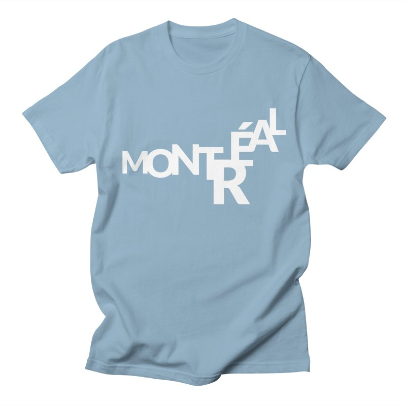 Montreal Island Logo Men's Regular T-Shirt by Shirts by Hal Gatewood