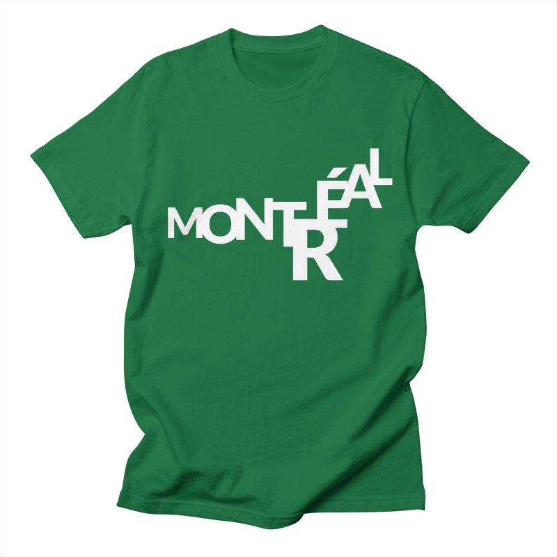 Montreal Island Logo Men's Regular T-Shirt by Shirts by Hal Gatewood