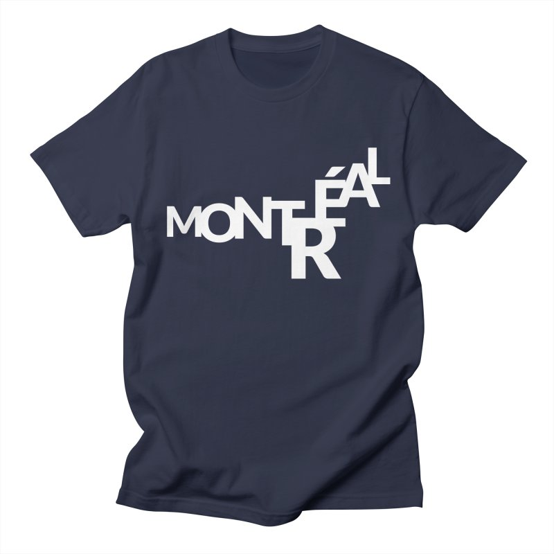 Montreal Island Logo Women's Regular Unisex T-Shirt by Shirts by Hal Gatewood