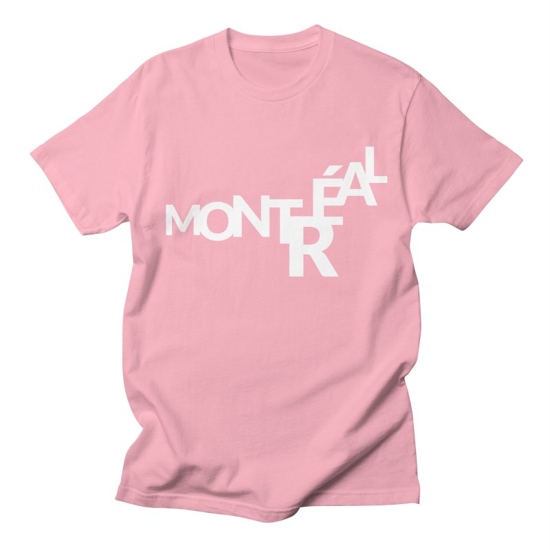 Montreal Island Logo Men's T-Shirt by Shirts by Hal Gatewood